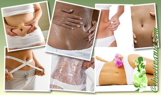Рецепты обертывания для похудения живота в домашних условиях