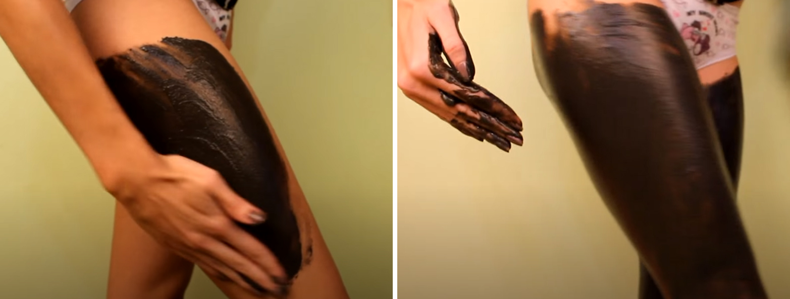 Процесс шоколадного обертывания. Шаг 1-2